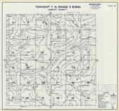 Township 7 N., Range 3 E., Kalama River, Lakeview Peak, Cowlitz County 1968